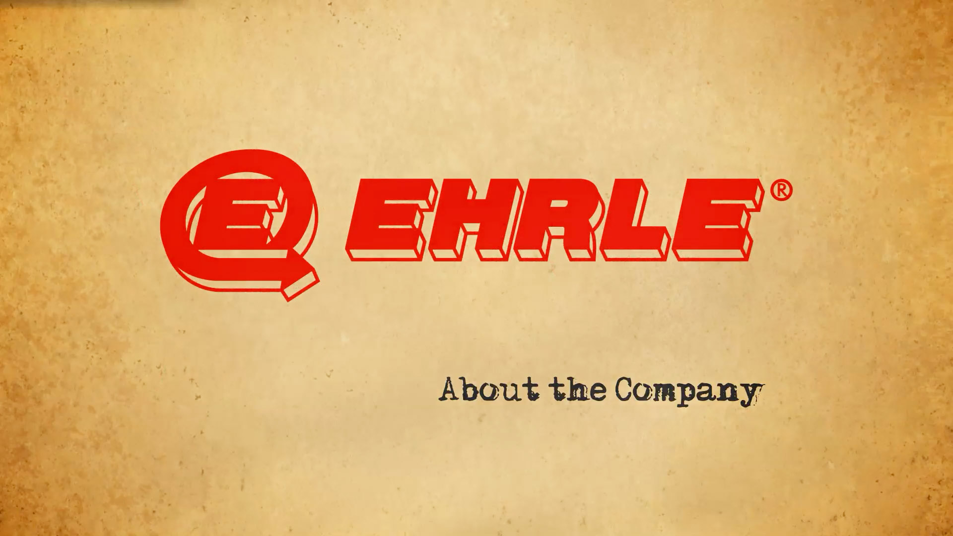 EHRLE-COMPANY